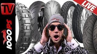 Motorrad Reifen Beratung - Live Beratung, Vergleich, Überblick