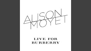 Only You (Live for Burberry)