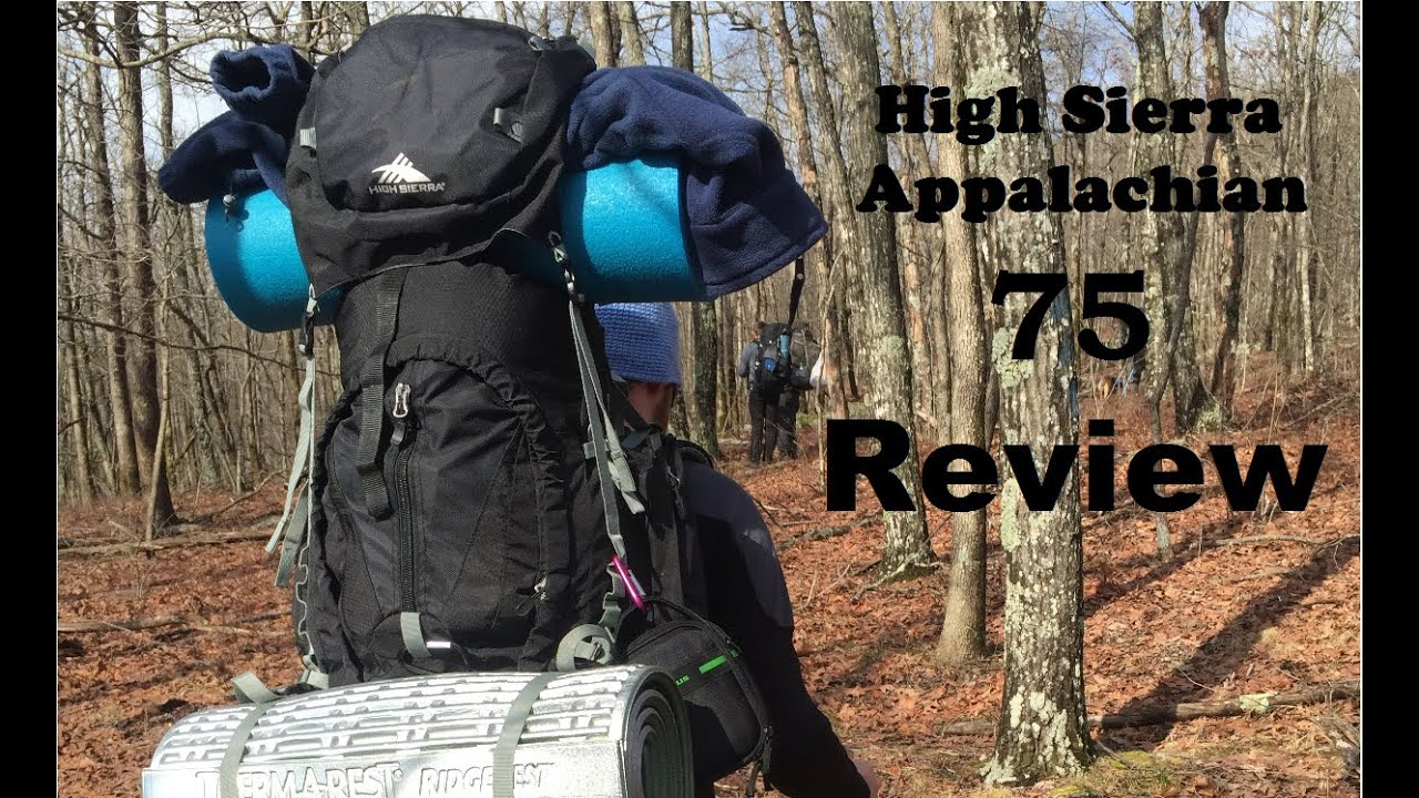 High Sierra Appalachian 75 Review - Best Budget Backpacking ...