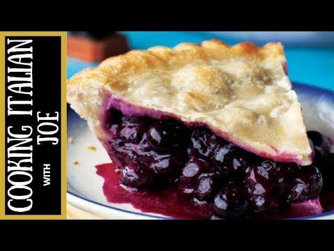 World's Best Blueberry Pie Cooking Italian with Joe