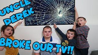 Gambar cover UNCLE DEREK BROKE OUR TV!