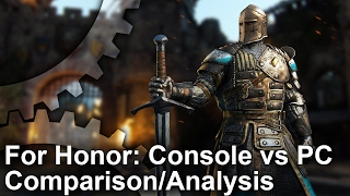For Honor Xbox One/PS4 vs PC Comparison + Frame-Rate Test