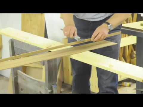Sawing Cedar Strips for a Strip-Built Kayak