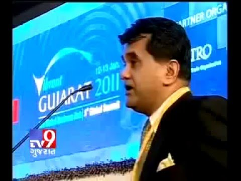Tv9 Gujarat News Amitabh Kant Speech Vibrant Gujarat 2011 Dholera SIR | Dholera SIR Latest News