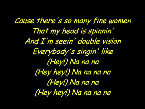 Double Vision - 3OH!3 - Lyrics [HQ]