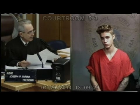Teenage idol Bieber released on bail after brush with law
