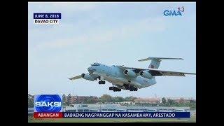 Saksi: Paglapag ng military plane ng China, pinabubusisi ni Sen. Lacson sa DND
