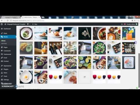Telegraph - Restaurant Wordpress Template (Demo Content Import)