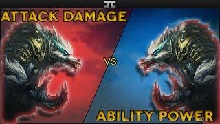 AD Warwick vs AP Warwick