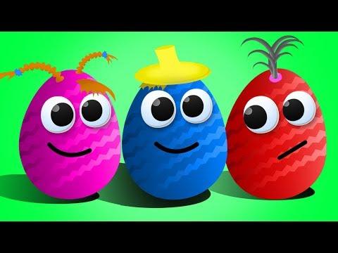 КОЛОБОК потерял ДРУЗЕЙ. Открываем Яйца Сюрпризы с игрушками Робокар Поли, фигурки Смешарики и др.