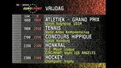 Eurosport Schedule (1990)