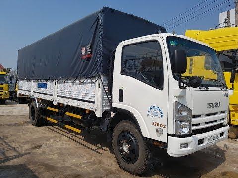 Xe tải isuzu VM 8T2- Thung dai 7m1 - YouTube