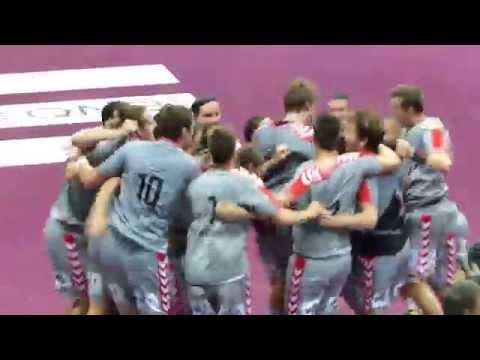 IHF SUPER GLOBE 2015: Fuchse Berlin - FC Barcelona 26:25 - last goal