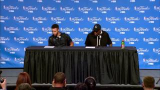 Stephen Curry & Kevin Durant Postgame Interview | Game 4 | Warriors vs Cavaliers | 2017 NBA Finals