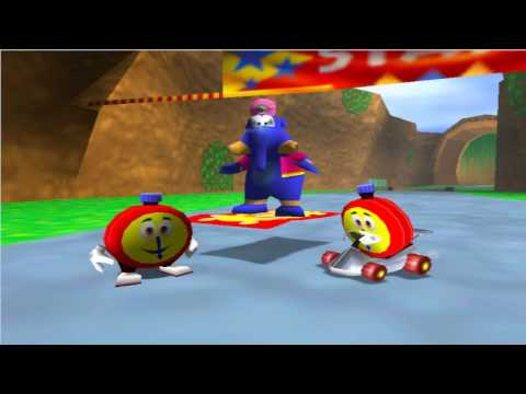 diddy kong racing, T.T vs Wizpig - YouTube