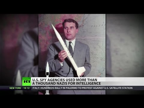 Nazi war criminals were recruited by CIA, FBI by the hundreds