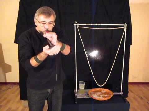 Как приготовить раствор для шоу мыльных пузырей.flv