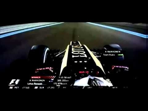 Kimi Raikkonen 2012 Abu Dhabi team radio