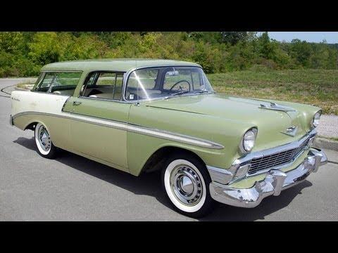 1956 Chevrolet Nomad Original Survivor