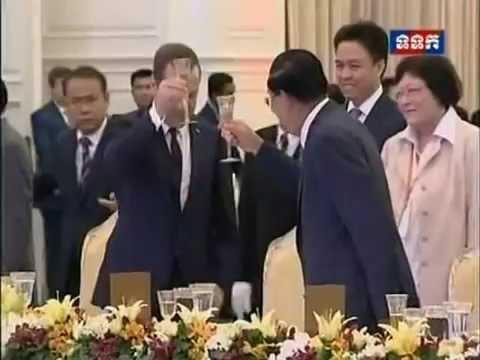 Russian Prime Minister Visit Cambodia