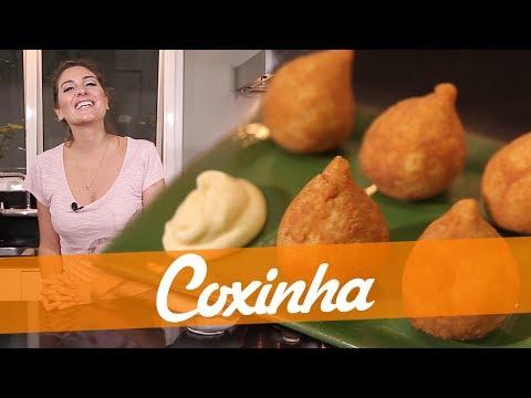 Coxinha de frango deliciosa - Carol Fiorentino