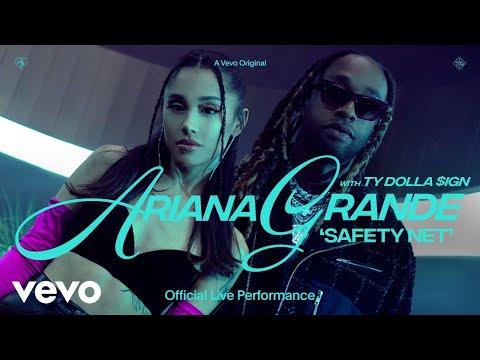Ariana Grande y Ty Dolla $ignarrasan con Safety Net