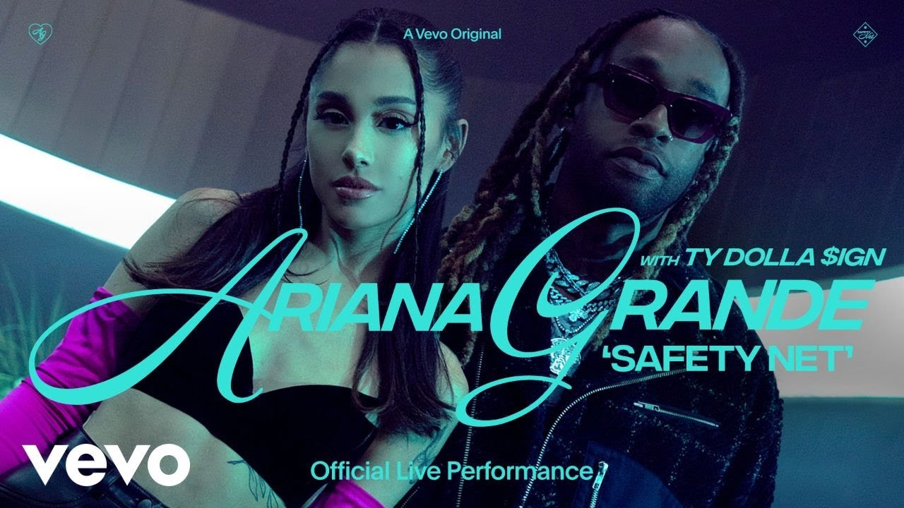 Download Ariana Grande - safety net ft. Ty Dolla $ign (Official Live Performance) | Vevo