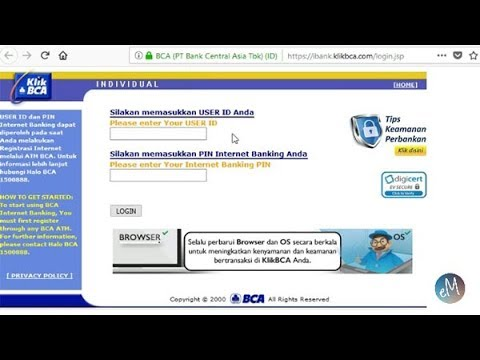 Cara Transfer ke BCA Virtual Account Via KlikBCA Internet