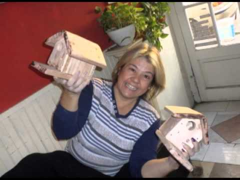 Como hacer casitas de madera para pajaros youtube - Casitas de maderas infantiles ...