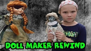Escaping The Doll Maker! Doll Maker Rewind Part 1-3