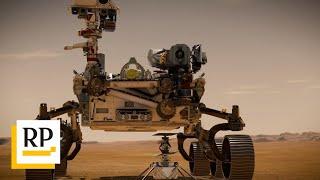 Nasa-Rover schickt Videos und Audio-Aufnahmen vom Mars