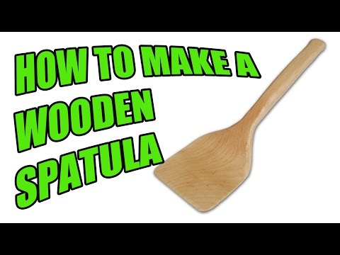 How to Make a Wooden Spatula