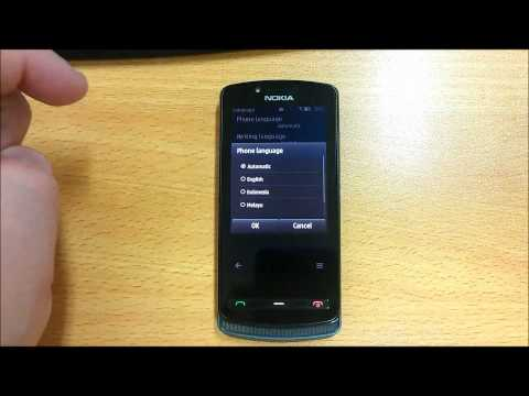 Nokia 700 - How to change languages
