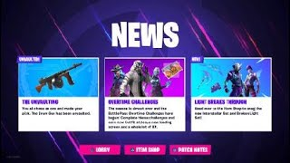 FORTNITE DRUM GUN IS BACK... (Patch Notes)
