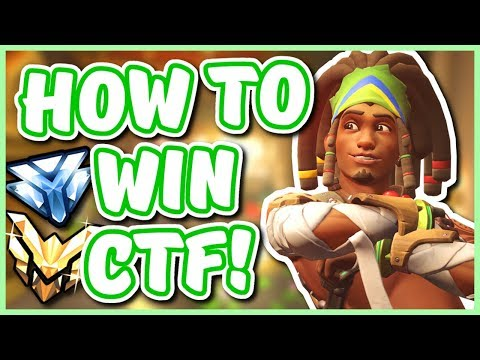 Overwatch - HOW TO WIN COMPETITIVE CTF (Best CTF Heroes!)