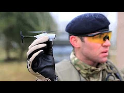 Next Generation Nano Drone - US Army Test - Black Hornet Nano
