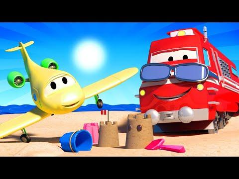 Tren para niños - Onda de Calor! | Troy el tren en Auto City from YouTube · Duration:  22 minutes 44 seconds