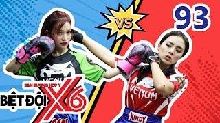 X6 SQUAD|BDX6#93|Lieu Ha Trinh plays billiard, Si Thanh-Miko have a fierce battle on Muay Thai mat 🏆