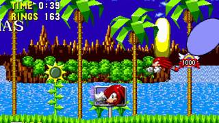 [TAS] Knuckles in Sonic 1 - Ring-attack [WIP-1]