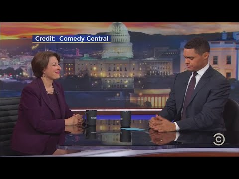 Sen. Klobuchar Makes Appearance On 'Daily Show'
