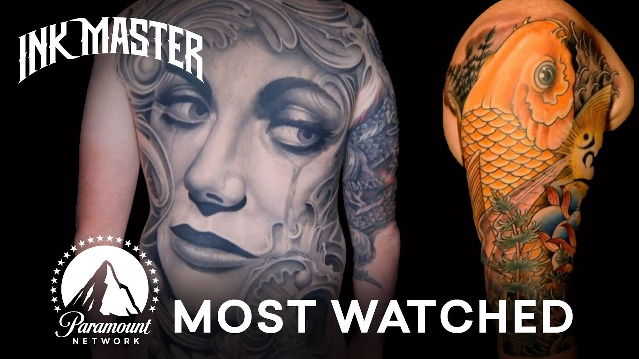 Download Top 5 Most-Watched August Videos | Ink Master