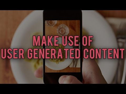 Automate your Social Media Marketing – Get User Generated Content!