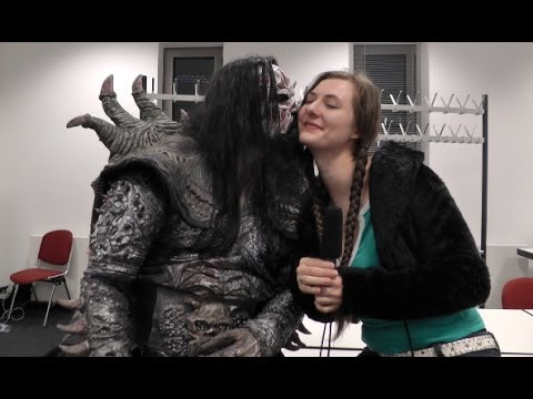 LORDI at Eisheilige Nacht in Bochum, Germany (Finnish with English subs)