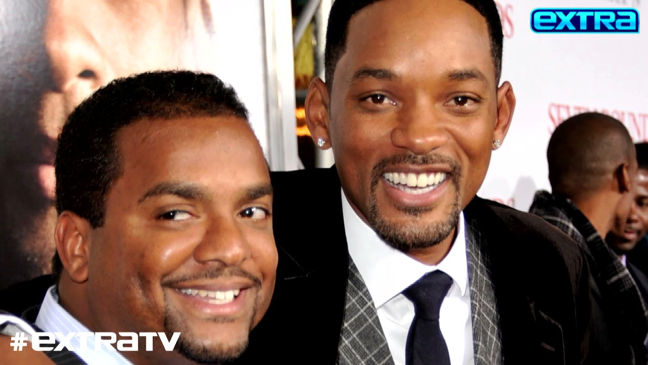 Alfonso Ribeiro Reacts to Will Smith's Weight-Loss Challenge