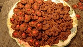 Italian Chocolate Butter Cookies By Diane Love To Bake