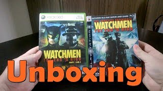 Watchmen: The End Is Nigh - Xbox 360\PS3 - UNBOXING