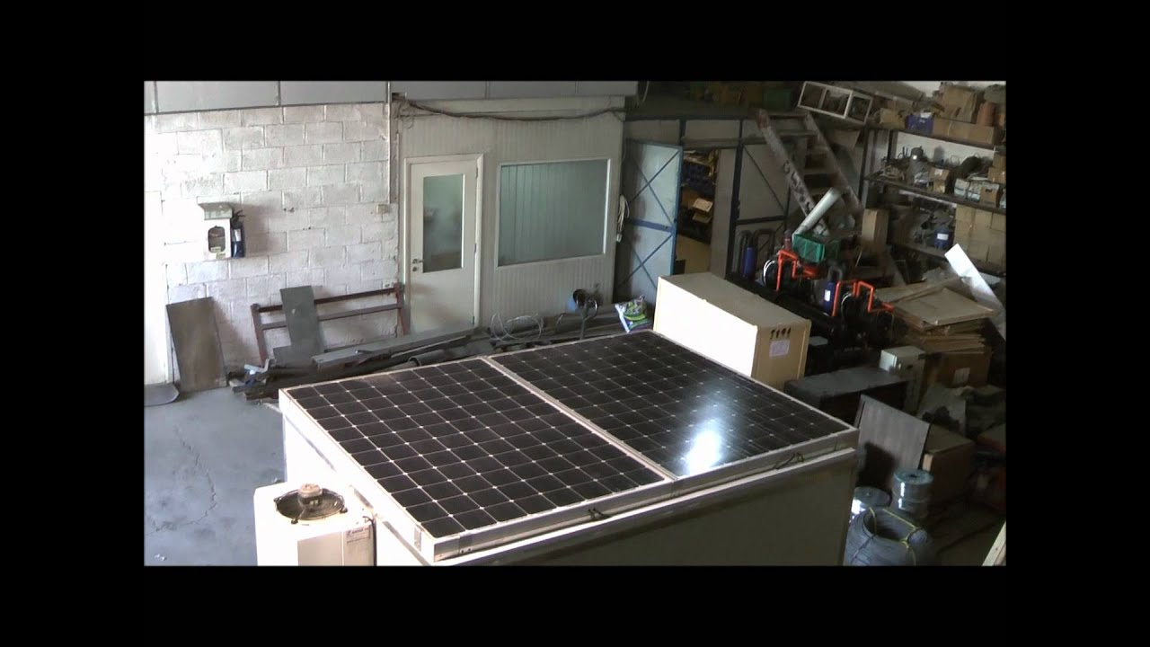 Sahar Solar Powered Cold Room Youtube