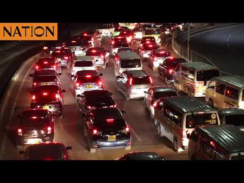 Construction of Nairobi Expressway causes heavy traffic in the CBD due to narrowing of major roads