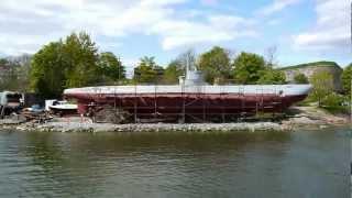 120529 Finsko Suomenlinna ponorka Vesikko