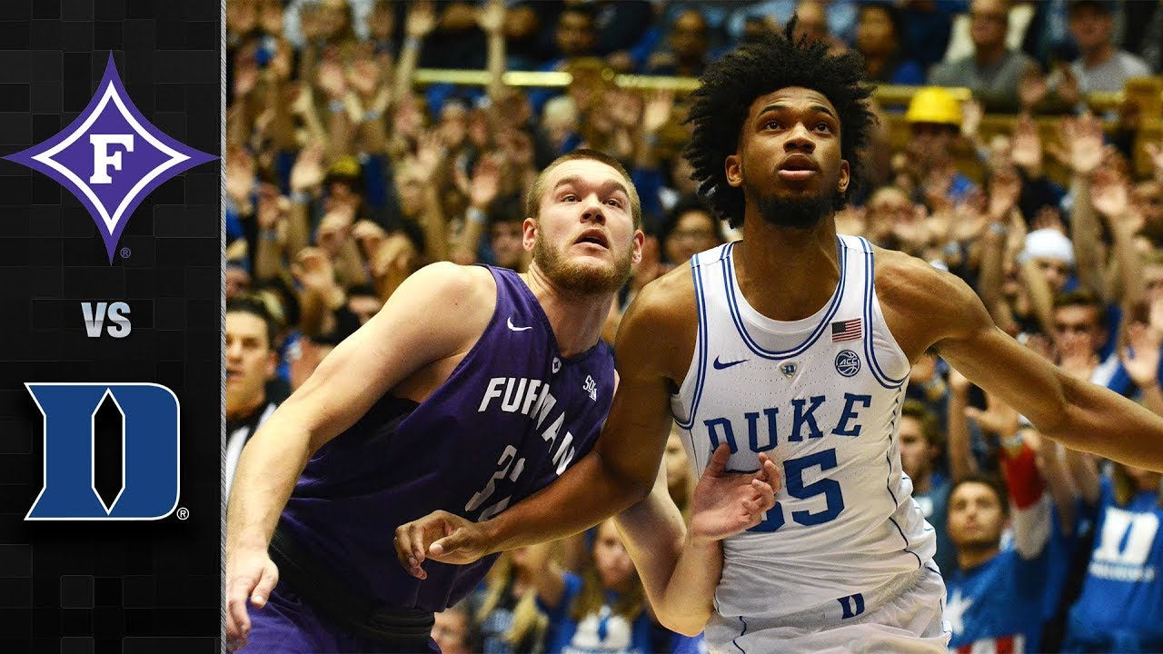 2ca125977a80 Duke vs Furman Basketball Highlights (2017) - YouTube